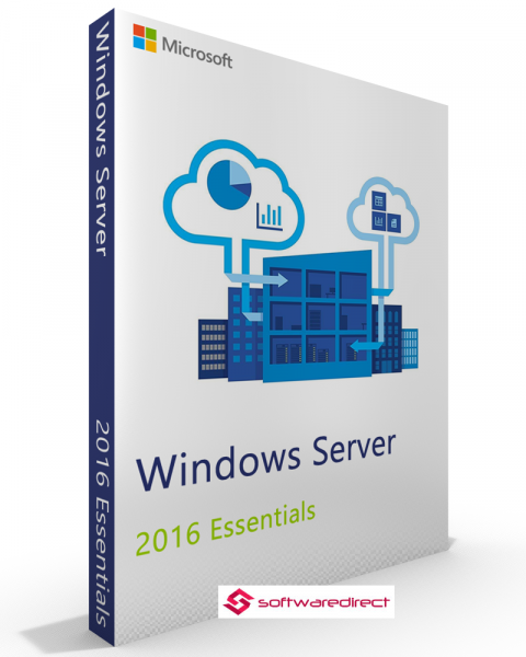 Microsoft Windows Server 2016 Essentials Vollversion