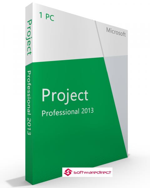 Microsoft Project 2013 Professional deutsch Vollversion