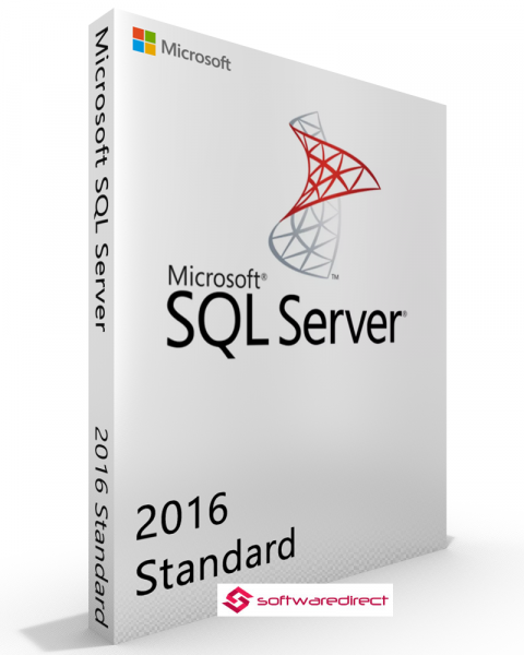 Microsoft SQL Server 2016 Standard Vollversion