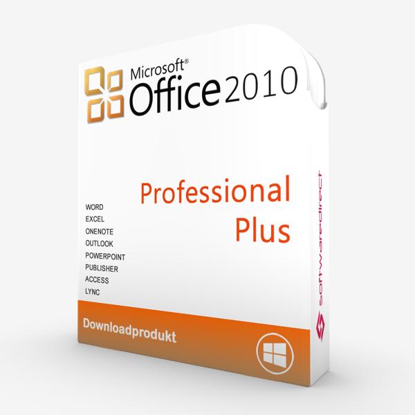 Office 2010 Professional Plus   Downloadprodukt