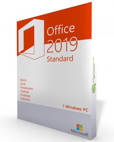Microsoft Office 2019 Standard Vollversion