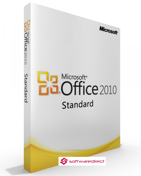 Microsoft Office 2010 Standard Vollversion