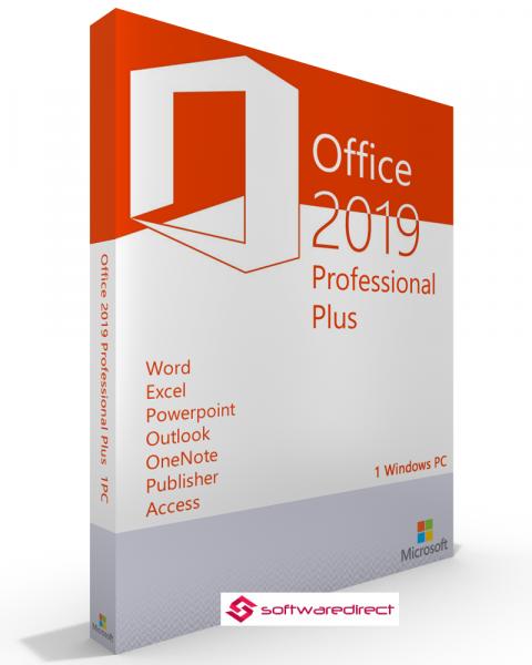 Microsoft Office 2019 Professional Plus Vollversion