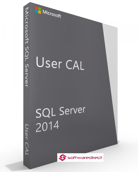 SQL Server 2014 Standard 5 User CAL