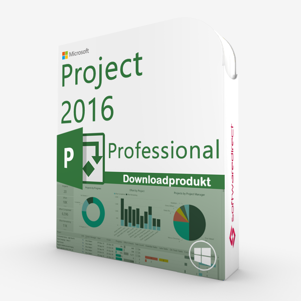 Project 2016 Professional | Downloadprodukt