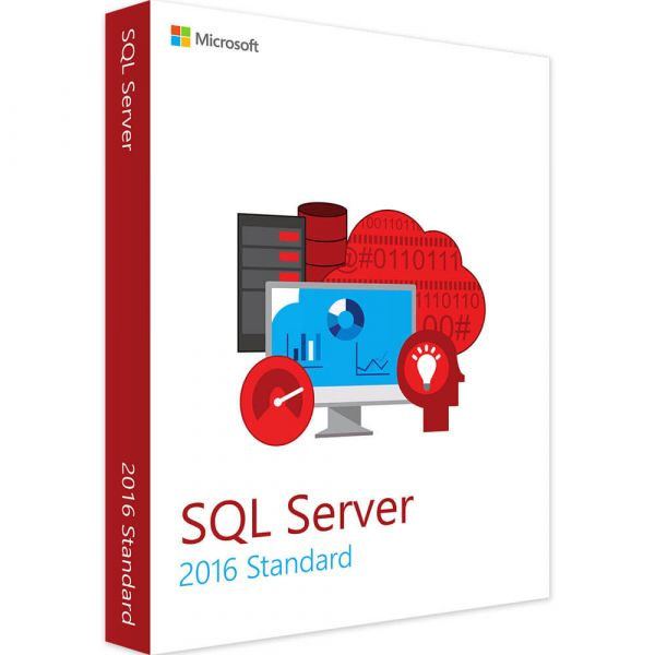 Microsoft SQL Server 2016 Standard Vollversion