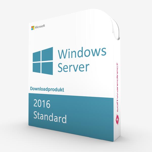 Windows Server 2016 Standard | Downloadprodukt