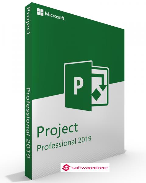 Microsoft Project 2019 Professional Click to run Vollversion