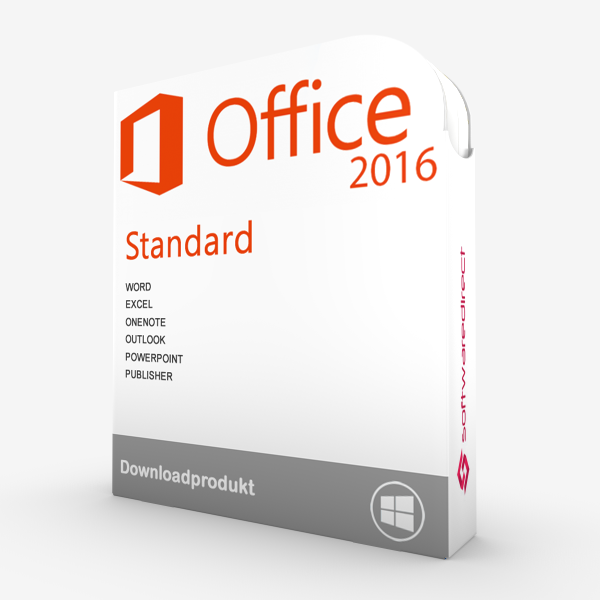 Office 2016 Standard | Downloadprodukt