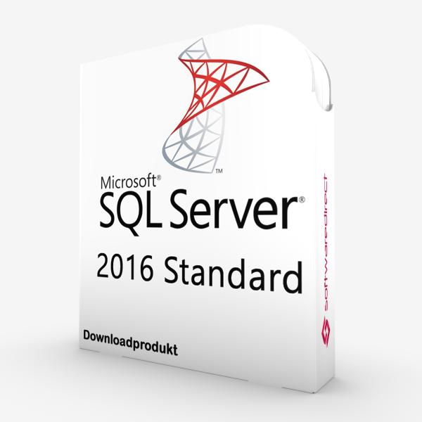 SQL Server 2016 Standard | Downloadprodukt