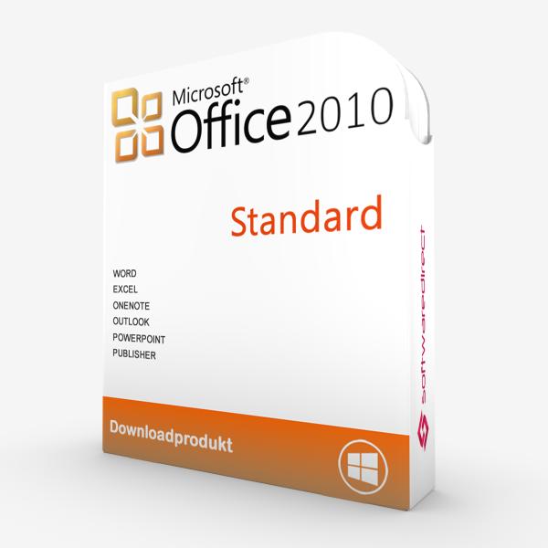 Office 2010 Standard   Downloadprodukt