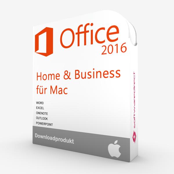 Office 2016 für MAC Home & Business | Downloadprodukt