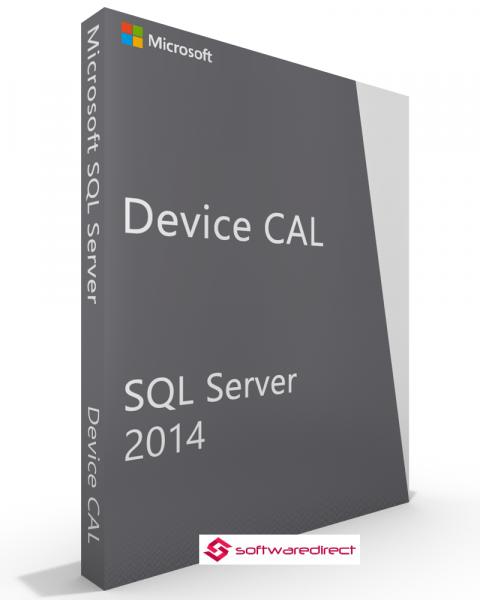 SQL Server 2014 Standard 10 Device CAL
