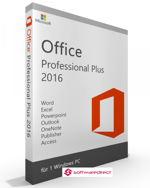 Microsoft Office 2016 Professional Plus / Download / 1PC