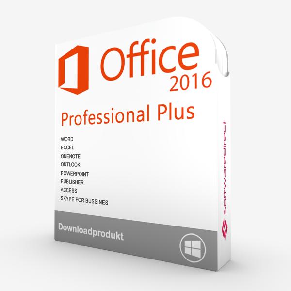 Office 2016 Professional Plus   Downloadprodukt