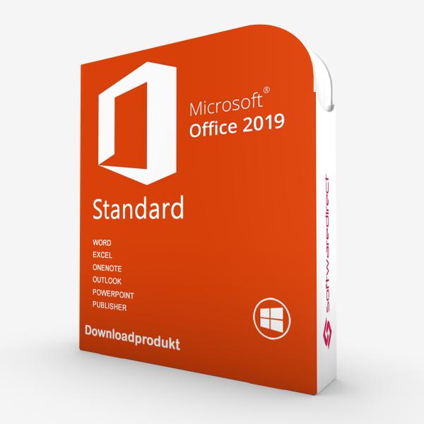 Office 2019 Standard Vollversion   Downloadprodukt