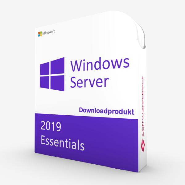 Windows Server 2019 Essentials | Downloadprodukt