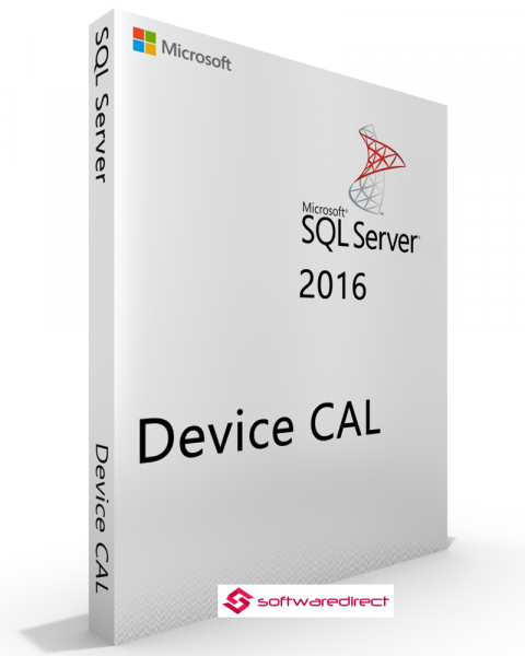 SQL Server 2016 Standard 10 Device CAL
